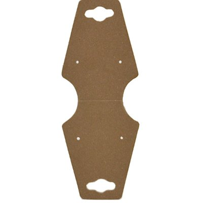 Cartela Gravata Média Para Conjunto - 4,9 X 12 cm - C29 Kraft