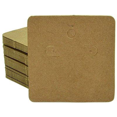 Cartela Para Brincos 6 x 6 cm - C44 Kraft