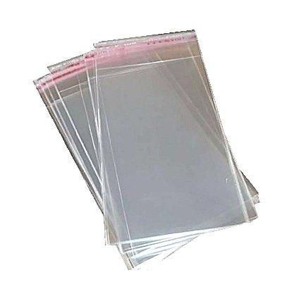 Saquinho Plástico Adesivado - 6 x 9 cm