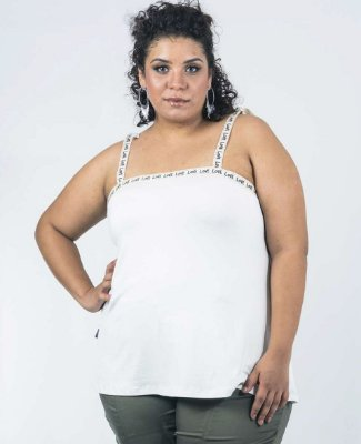 REGATA PLUS SIZE IN LOVE OFF WHITE