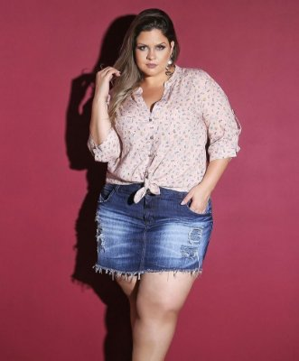 CAMISA PLUS SIZE LOVE