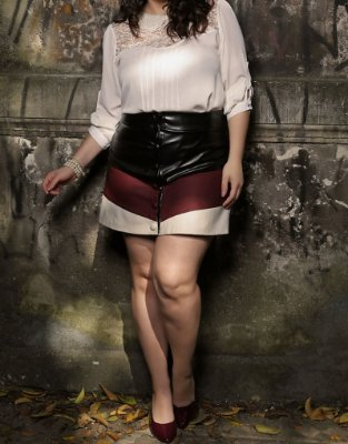 SHORT SAIA PLUS SIZE FASHION