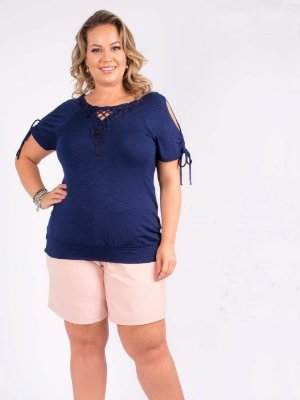 BLUSA PLUS SIZE LOVE SUMMER
