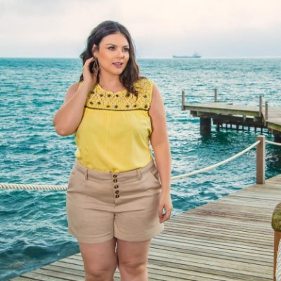BLUSA PLUS SIZE SUMMERTIME