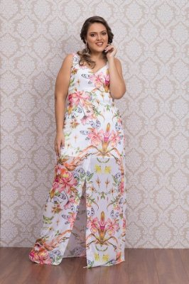 VESTIDO PLUS SIZE SUMMER