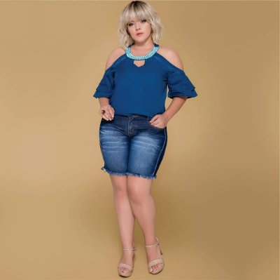 BLUSA PLUS SIZE RIVER