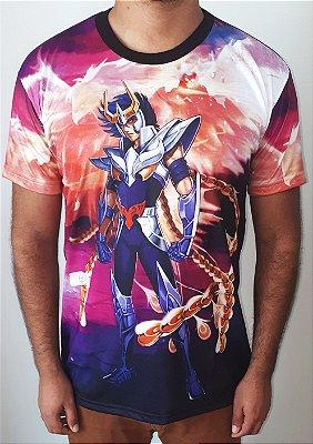 CAVALEIROS DO ZODÍACO - Ikki de Fênix - Camiseta de Animes