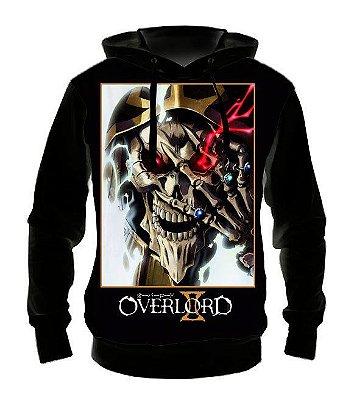 OVERLORD - Modelo 1 - Casaco de Moletom Animes