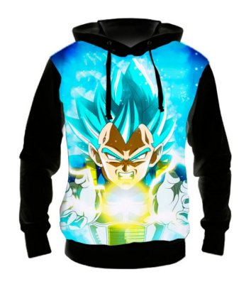 DRAGON BALL SUPER - Vegeta Big Bang - Casaco de Moletom Animes