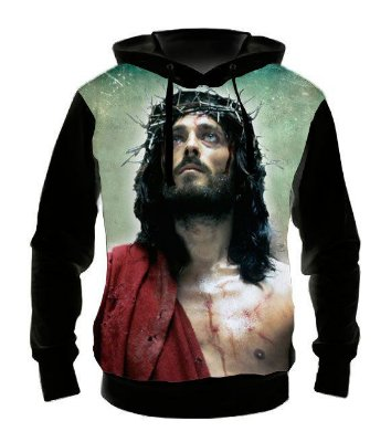 RELIGIOSOS - Jesus de Nazaré - Casaco de Moletom Variados