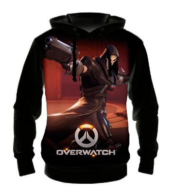 OVERWATCH - Reaper - Casaco de Moletom Games