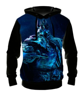 WORLD OF WARCRAFT - Arthas Lich King - Casaco de Moletom Games
