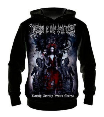 CRADLE OF FILTH - Darkly Venus - Casaco de Moletom Rock Metal