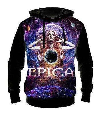 EPICA - Modelo 1 - Casaco de Moletom Rock Metal