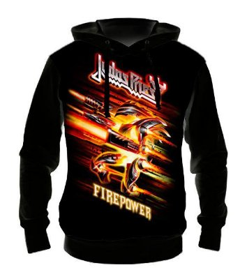 JUDAS PRIEST - Fire Power - Casaco de Moletom Rock Metal