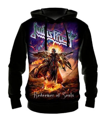 JUDAS PRIEST - Redeemer of Souls - Casaco de Moletom Rock Metal