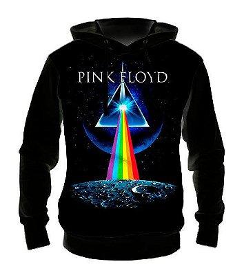 PINK FLOYD - Modelo 2 - Casaco de Moletom Rock Metal