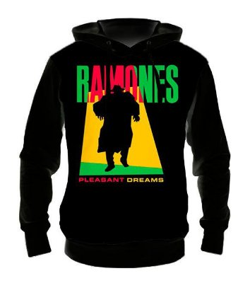 RAMONES - Pleasant Dreams - Casaco de Moletom Rock Metal