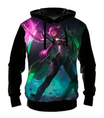 LEAGUE OF LEGENDS - Elise Super Galatica - Casaco de Moletom Games