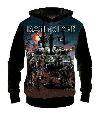 IRON MAIDEN - A Matter of Life and Death - Casaco de Moletom Rock Metal