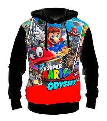 SUPER MARIO - Odyssey -  Casaco de moletom Games
