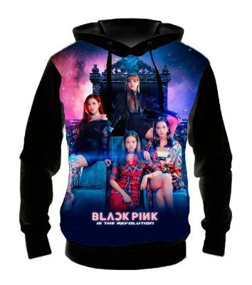 BLACK PINK - Is The Revolution - Casaco de Moletom KPOP