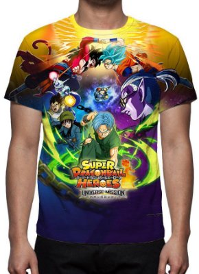 DRAGON BALL - Super Dragon Ball Heroes - Camiseta de Animes