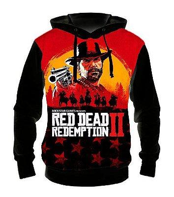 RED DEAD REDEMPTION II - Casaco de Moletom Games
