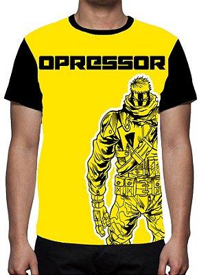 BRASIL COMICS - Opressor - Camiseta Parcerias