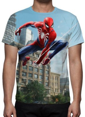 SPIDERMAN - PS4 - Camisetas de Games