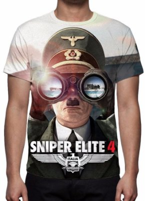 SNIPER ELITE 4 - Camiseta de Games