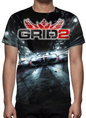 GRID 2 - Camiseta de Games