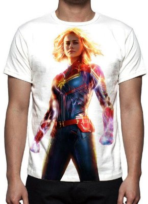 MARVEL - Capitã Marvel Modelo 5 - Camiseta de Cinema