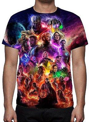 MARVEL - Vingadores Ultimato Modelo 1 - Camiseta de Cinema