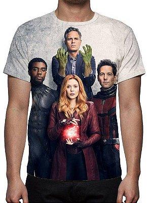 MARVEL - Vingadores - Equipe Modelo 1 - Camiseta de Cinema