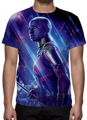 MARVEL - Vingadores Ultimato - Roxa Okuye - Camiseta de Cinema
