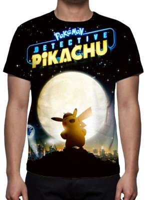 POKEMON - Detetive Pikachu Luar - Camiseta de Cinema