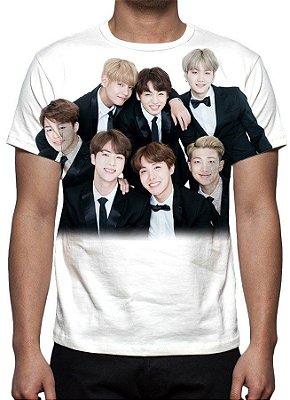 KPOP - BTS - Grupo Modelo 3 - Camiseta de Música