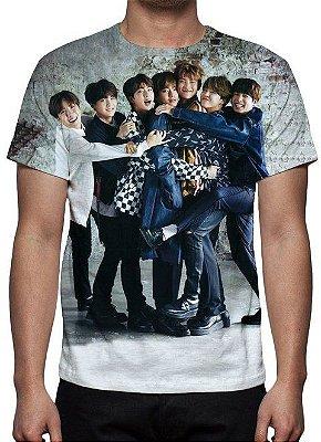 BTS - Grupo Modelo 4 - Camiseta de Música