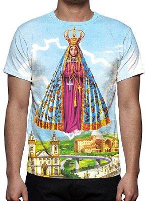 RELIGIOSOS - Nossa Senhora Aparecida - Camiseta Variada