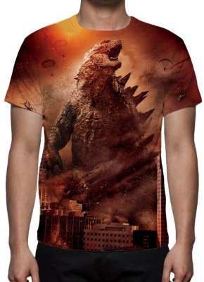 GODZILLA 2 - Modelo 1 - Camiseta dde Cinema