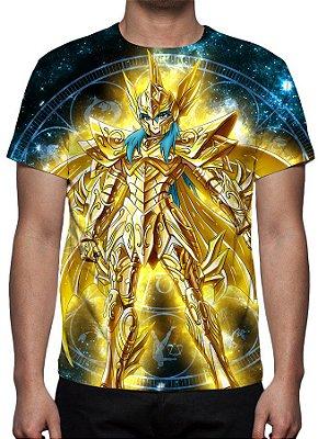 CAVALEIROS DO ZODÍACO - Armadura Divina Afrodite de peixes - Camiseta de Animes
