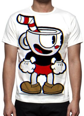 CUPHEAD - Modelo 2 - Camiseta de Games