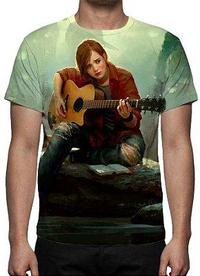 Last of Us, The - Parte II Ellie Tocando Violão - Camiseta de Games