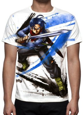 DRAGON BALL SUPER - Trunks Modelo 2 - Camiseta de Animes