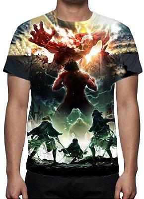 SHINGEKI NO KYOJIN - Atack on Titan - Camiseta de Animes
