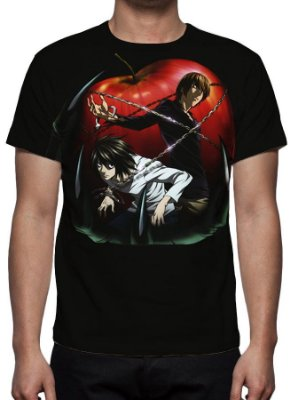 DEATH NOTE - Modelo 6 - Camiseta de Animes