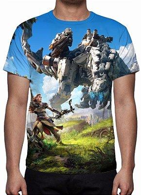 HORIZON ZERO DAWN - Modelo 2 - Camiseta de Games