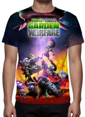 PLANTS VS ZOMBIES - Garden Warfare - camiseta de Games