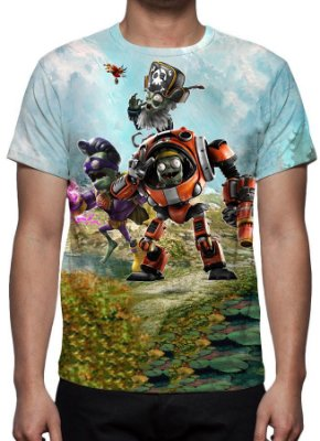 PLANTS VS ZOMBIES - Garden Warfare 2 Modelo 1 - Camiseta de Games